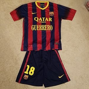 Unisex Barcelona full kit